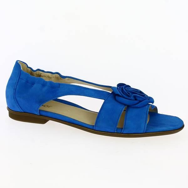 Grande Bleu Chez En Pointure Sandale Gabor Dounia De wPTluiOkXZ