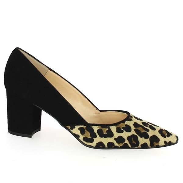 motif Léopard de Escarpin Talons Shoesissime Chaussures 5j4LqSAc3R