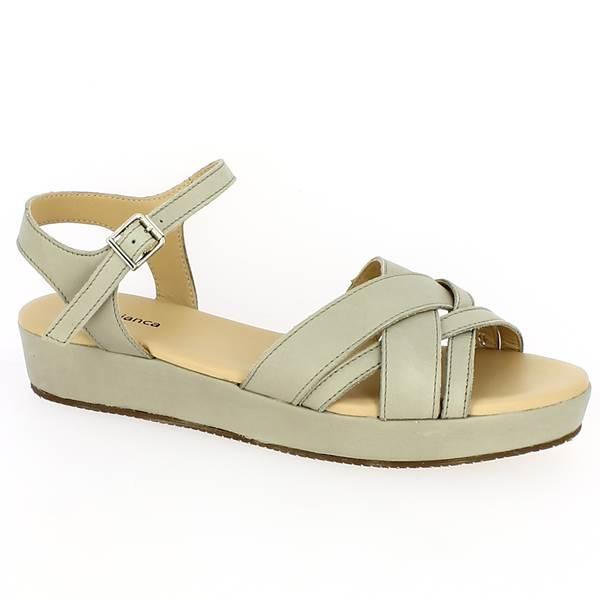 Sandale Compensées en grandes pointures   42, 43, 44, 45 - FREDA ... 229c588f0a9b