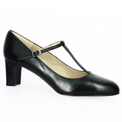 KEIRA Black Leather