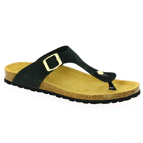 Grandes De Tong Tailles Femmes 42434445 Noir Shoesissime Pour 80PkXwOn