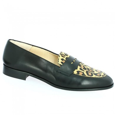 Moccasin 42 43 44 45 Leopard Shoes Large Size