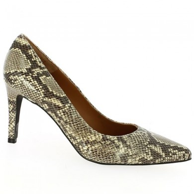 Snake Python Court Shoe Large Size