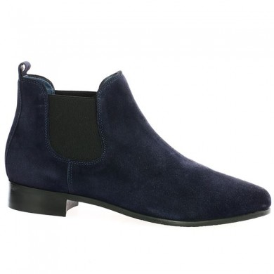 Blue Velvet Boot Large Size 42 43 44 45