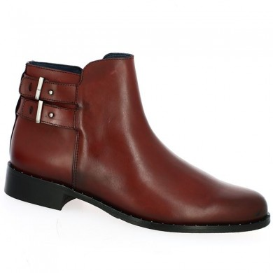 Bordeaux Boot 42, 43, 44, 45 Women's Big Size Shoes