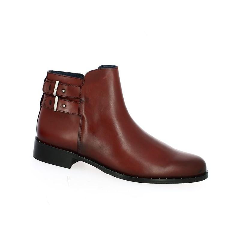 Bordeaux Boot 42, 43, 44, 45 Women's Big Size Shoes