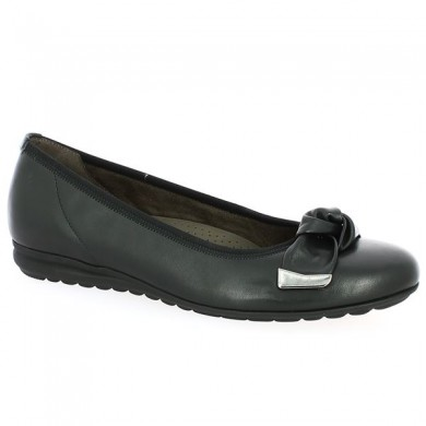 Ballerina Gabor 8, 8.5, 9, 9.5 black with bow