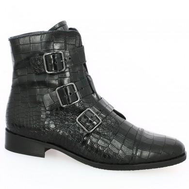 Croco boot large size woman Gabor