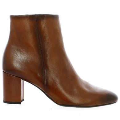 Large Size Camel Gabor Heel Boot