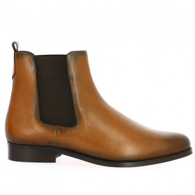 Bottine Chelsea Camel