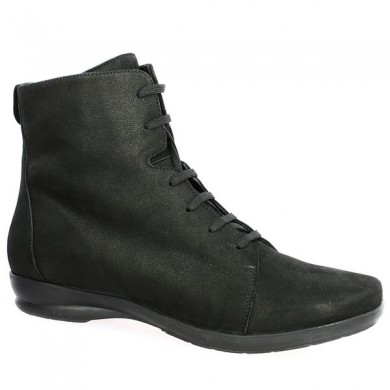 Women's large size flat boot