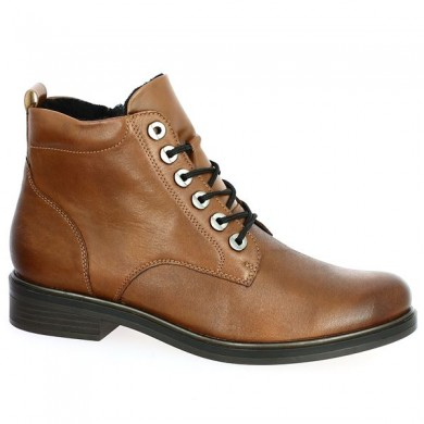 Women's Large Size Removable Lace Up Boot
