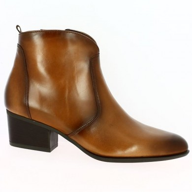 Boots western grande taille femme