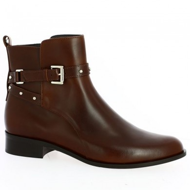 Women's dress boots large size brown