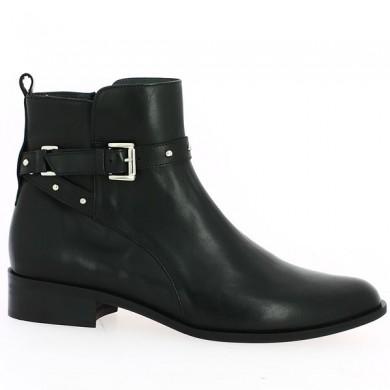 Bottines noir plate femme 42, 43, 44 Shoesissime