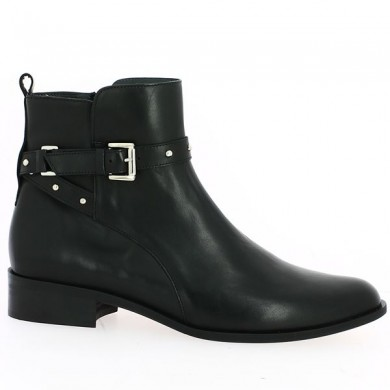 Black flat boots for women 42, 43, 44 Shoesissime