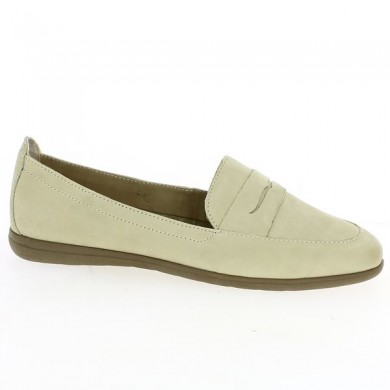 Women's Beige Loafer Large Size
