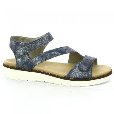 Remonte sandals 42, 43, 44, 45 blue Shoesissime