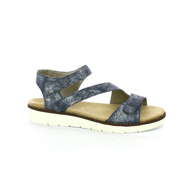 Sandale Remonte 42, 43, 44, 45 bleu Shoesissime