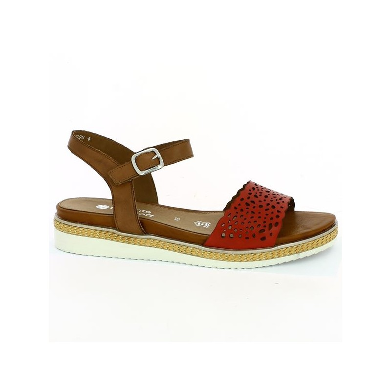 Red Camel sandal in large size 42, 43, 44, 45
