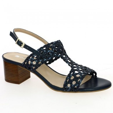 Sandale Tressée Femme Grande Taille