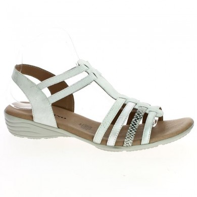 White Sandal Geo Reino