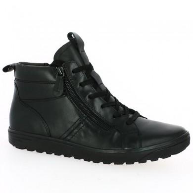 Women's high top sneakers black 42, 43, 44, 45