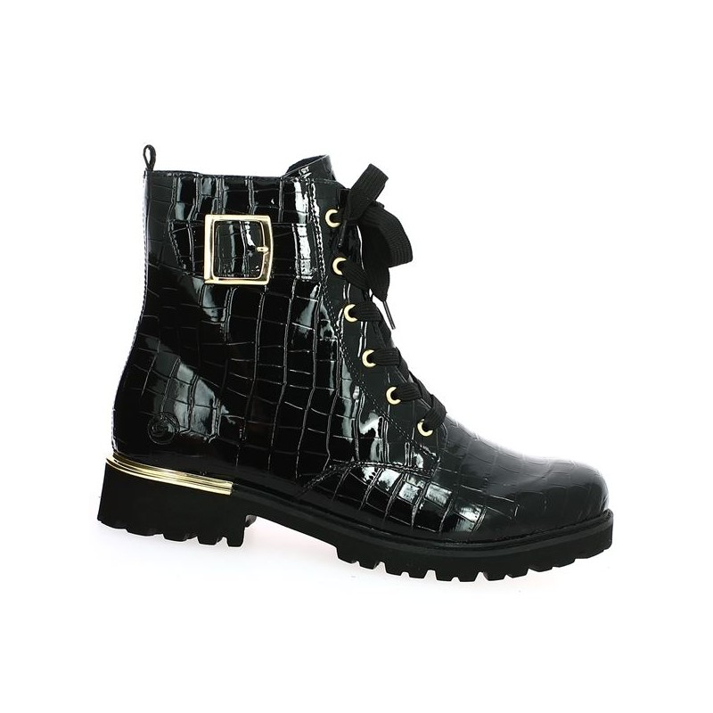 black boot large size woman remonte 42;43;44;45