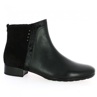 Black gabor boot large size woman