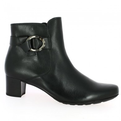 Small black heel boot 42, 43, 44, 45 shoesissime