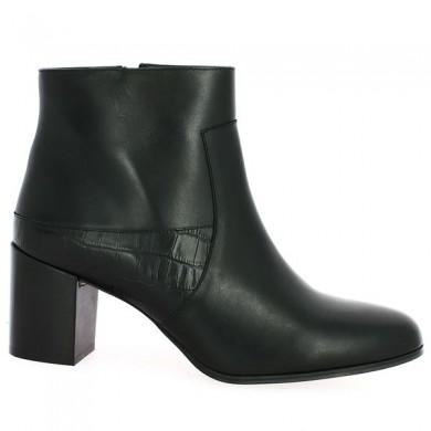 Boots Cuir Grande Pointure Femme Shoesissime