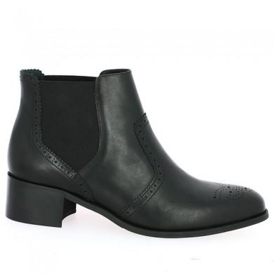 Bottine noire Shoesissime Grande taille