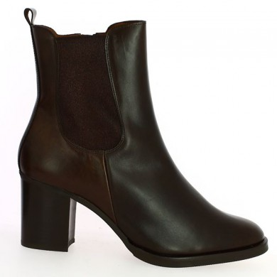 Boots Marron Femme Grande Taille